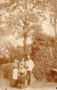 1912 Emilie, Fanny, Carl und Marie Aldinger