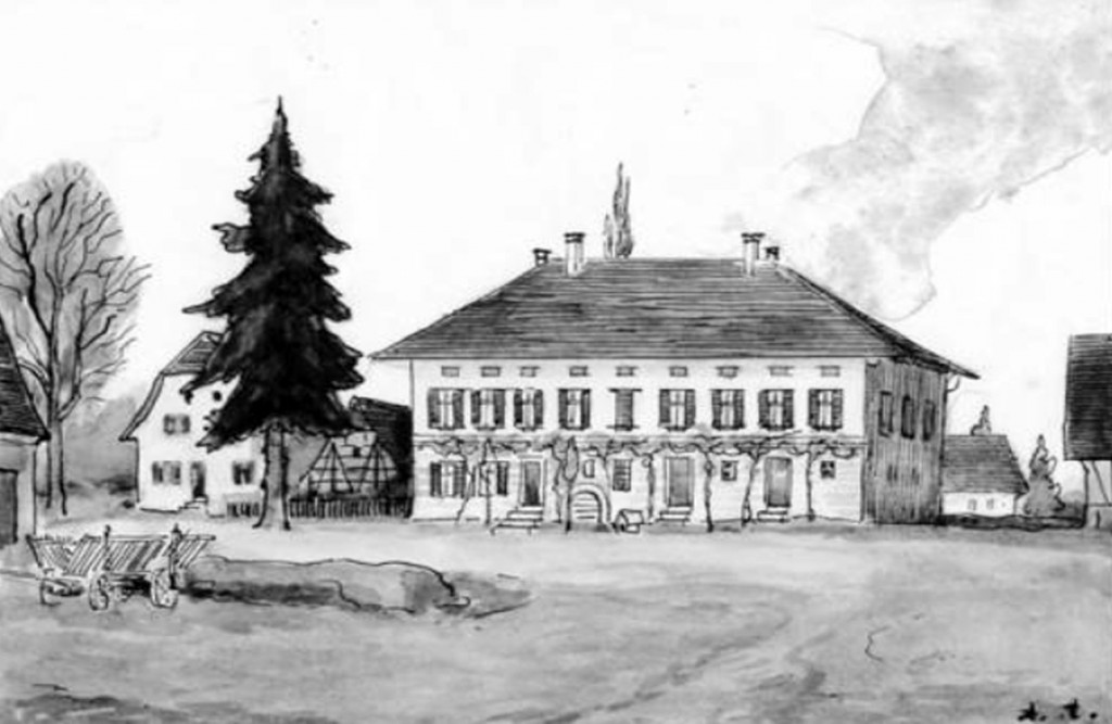 Hofgut Einsiedel, das Heimathaus der Bräuniingers